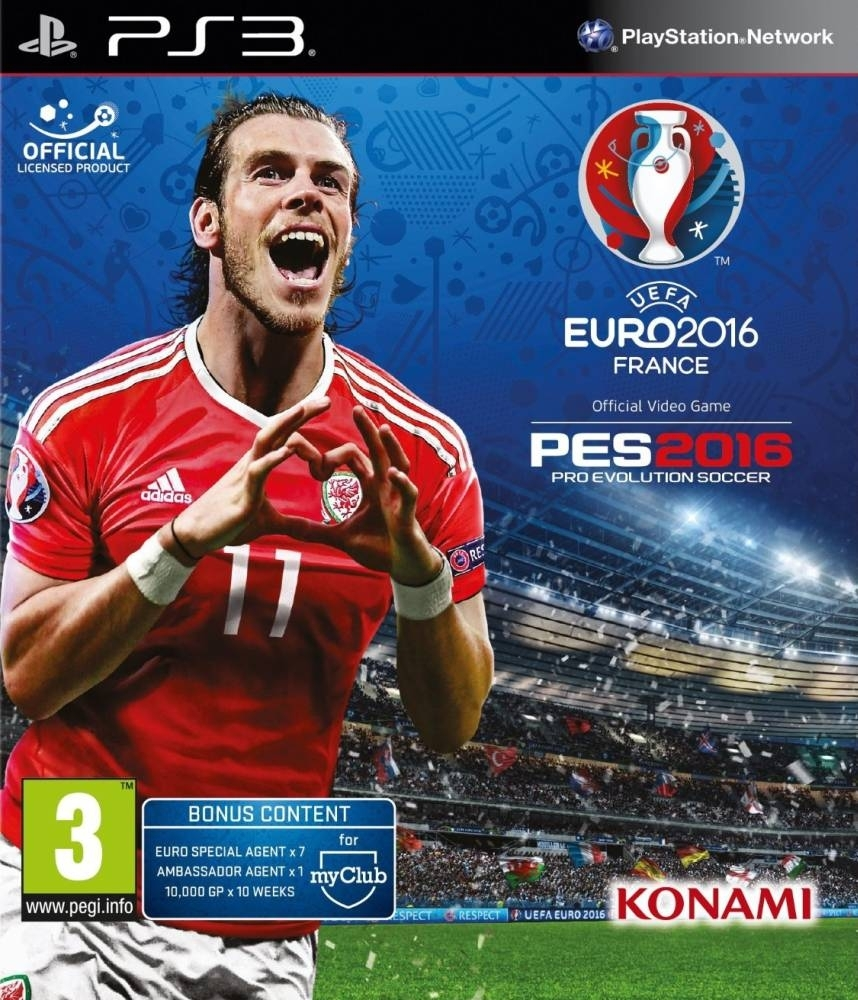 Pro Evolution Soccer 2016: Uefa Euro 2016 / PES 2016 (PS3)